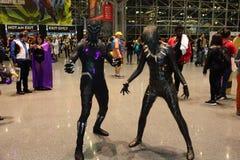New York Comic Con 2018 Saturday 19 royalty free stock photo