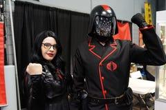 New York Comic Con 2018 Saturday 3 stock photos