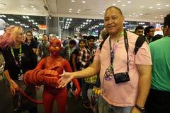 New York Comic Con 2018 Saturday 71 royalty free stock image