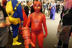 New York Comic Con 2018 Saturday 70 stock images
