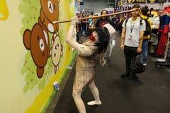 New York Comic Con 2018 Saturday 64 stock photo
