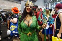 New York Comic Con 2018 Saturday 65 stock image