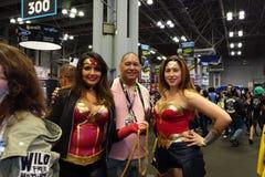 New York Comic Con 2018 Saturday 43 royalty free stock photography