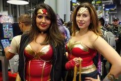 New York Comic Con 2018 Saturday 39 stock image