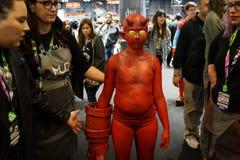 New York Comic Con 2018 Saturday 2 stock photography