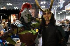 New York Comic Con 2018 Saturday 5 royalty free stock photo