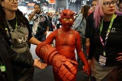 New York Comic Con 2018 Saturday 6 royalty free stock photography