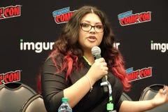 New York Comic Con 2018 Thursday 95 stock photo