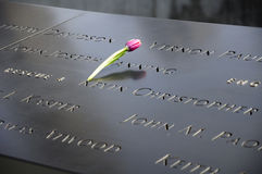 9/11 New York commémoratif Image libre de droits