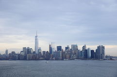 New York Commercial Building and marine scene Stock Images