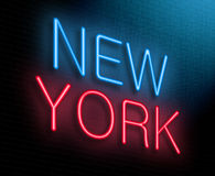 New York concept. Royalty Free Stock Image
