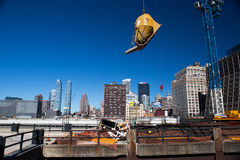 New York construction Stock Images