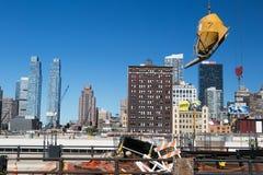 New York construction Royalty Free Stock Photography
