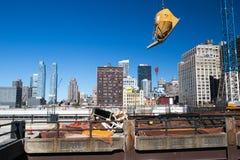 New York construction Stock Photos