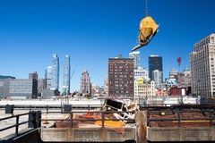 New York construction Royalty Free Stock Images