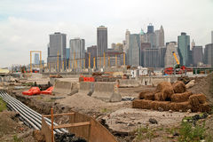 New York pARK Construction Site USA Stock Photo
