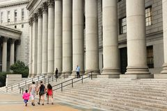 New York courthouse Royalty Free Stock Photography