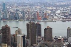 New York da sopra Fotografie Stock Libere da Diritti