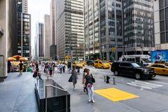 NEW YORK - 22 DE AGOSTO Imagem de Stock Royalty Free
