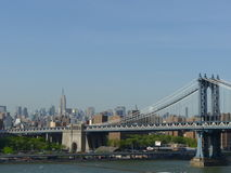 New York. De brug van Manhattan Stock Afbeelding