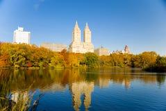 New York in de Herfst Stock Afbeeldingen