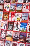 New York - 7 de março de 2017: Time Magazine o 7 de março em New York, Imagem de Stock