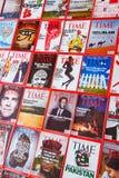 New York - 7 de março de 2017: Time Magazine o 7 de março em New York, imagens de stock