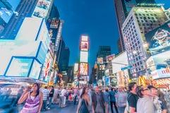 New York - 5 de setembro de 2010: Times Square o 5 de setembro em novo Foto de Stock Royalty Free