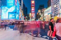 New York - 5 de setembro de 2010: Times Square o 5 de setembro em novo Fotografia de Stock Royalty Free