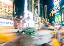 New York - 5 de setembro de 2010: Times Square o 5 de setembro em novo Imagem de Stock
