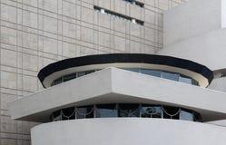 NEW YORK - 1º DE SETEMBRO: O Solomon R Museu de Guggenheim da modificação Fotos de Stock Royalty Free