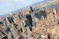 New York, de V stock fotografie