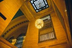 NEW YORK, de V.S. - 15 Dec, 2017: Binnenland van Grand Central -Terminal royalty-vrije stock foto