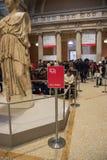 New York, de V.S. - 5 Januari, 2019 Het Metropolitaanse Museum van Kunst in New York stock foto's