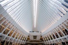 New York, de V.S. - 30 Maart, 2018: Moderne gebouwen bij wereldtra Stock Afbeelding