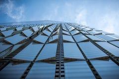 New York, de V.S. - 30 Maart, 2018: Moderne gebouwen bij wereldtra Royalty-vrije Stock Afbeeldingen