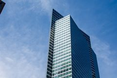 New York, de V.S. - 30 Maart, 2018: Moderne gebouwen bij wereldtra Stock Afbeeldingen