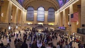 NEW YORK, DE V.S. - 5 MEI, 2019: Grand Central -station stock video