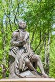 New York, de V.S. 20 Mei, 2014 Herdenkings Schotse dichter Robert Burns Stock Foto