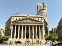 New York, de V.S. - 24 Mei, 2018: Het Hooggerechtshof van de Provincie van New York en stock foto's