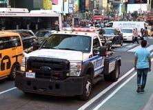 NEW YORK, de V.S. - 24 Mei, 2018: Politiewagen van de Stad Po van New York Royalty-vrije Stock Afbeelding