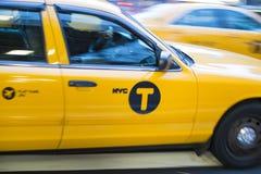 NEW YORK, DE V.S. - 21 NOVEMBER: De motie vertroebelde schot van beroemde Nieuwe Yo Stock Foto's