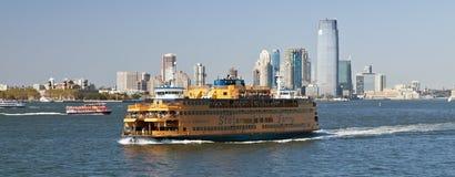 New York, de V.S., Staten Island Ferry Stock Afbeeldingen