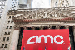 New York - DECEMBER 18, 2013: AMC IPO on New York Stock Photography