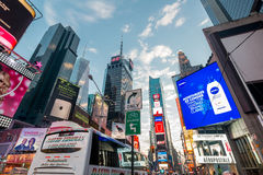 New York - DECEMBER 22, 2013: Times Square on December 22 in USA Royalty Free Stock Images