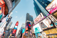 New York - DECEMBER 22, 2013: Times Square on December 22 in USA Stock Photography