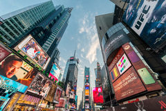 New York - DECEMBER 22, 2013: Times Square on December 22 in USA Royalty Free Stock Photos