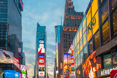 New York - DECEMBER 22, 2013: Times Square on Stock Image