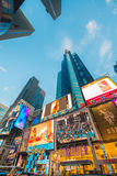 New York - DECEMBER 22, 2013: Times Square on Royalty Free Stock Image