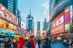 New York - DECEMBER 22, 2013 Royalty Free Stock Photo